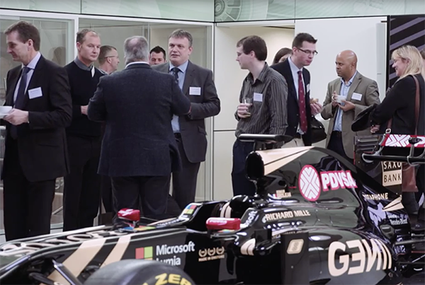 Adifo's Feed Industry Solution Seminar – LOTUS F1 Team Centre 2015